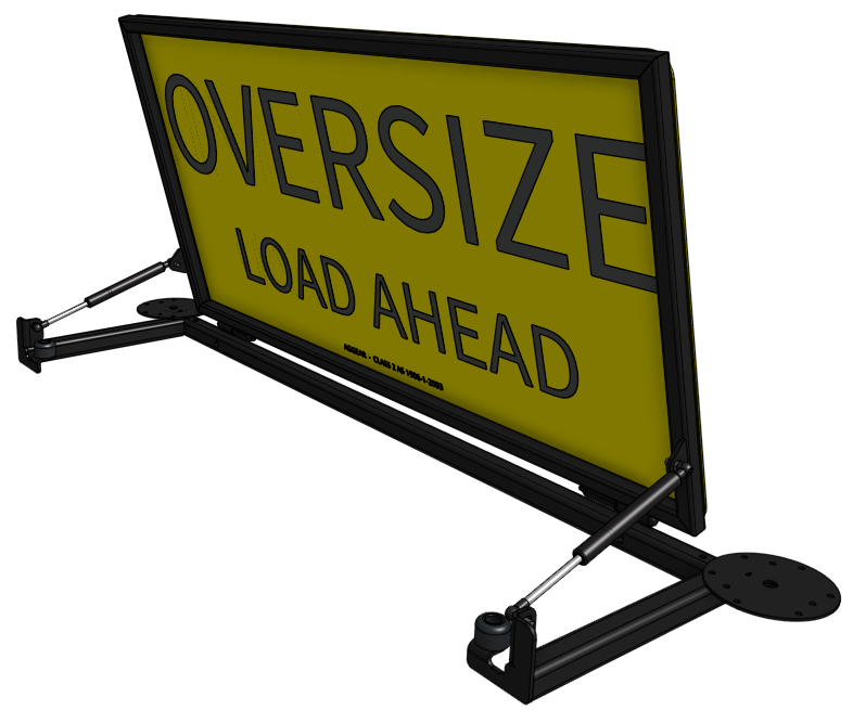 Oversize Load Ahead